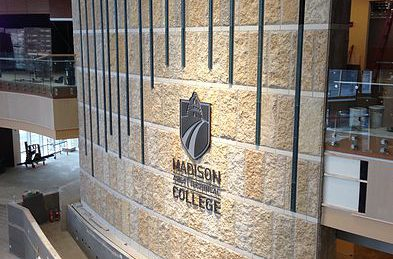 Photo of Madison College Entrance Area